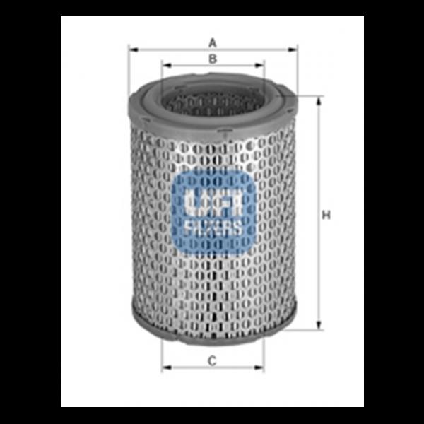 Ufi Luftfilter 27.150.00 - Stück