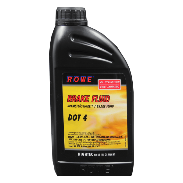 ROWE Rowe Hightec Brake Fluid DOT 4 - 1L Dose