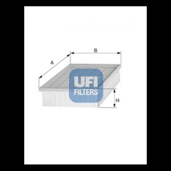 Ufi Luftfilter 30.835.00 - Stück