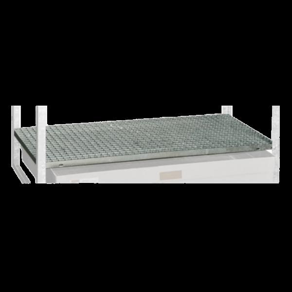 Stahlgitterrost für Fassregale Typ 360 und 540