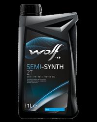 Wolf Oil Semi-Synt 2T - 1L Dose