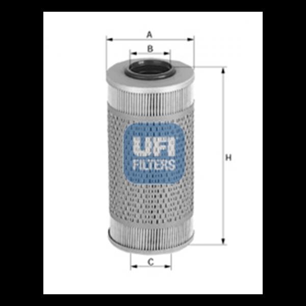 Ufi Ölfilter 25.524.00 - Stück