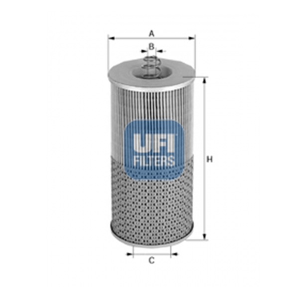 Ufi Ölfilter 25.531.00 - Stück