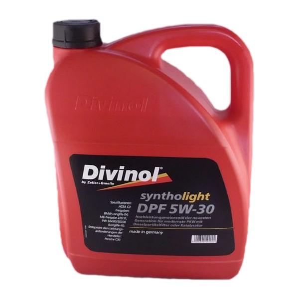 Zeller & Gmelin Divinol Syntholight DPF 5W-30 - 5L Kanne
