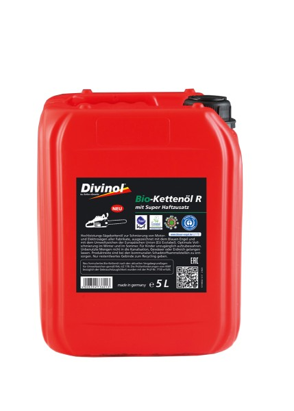 Zeller & Gmelin Divinol Bio-Kettenöl R - 5L Kanne