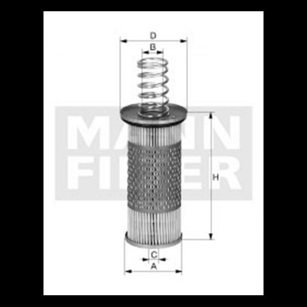 MANN MANN-Filter HD 1053 - Stück
