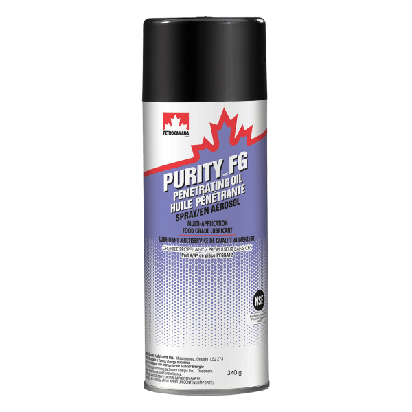 Petro-Canada Purity FG Penetrating Oil Spray - 355ml Spray