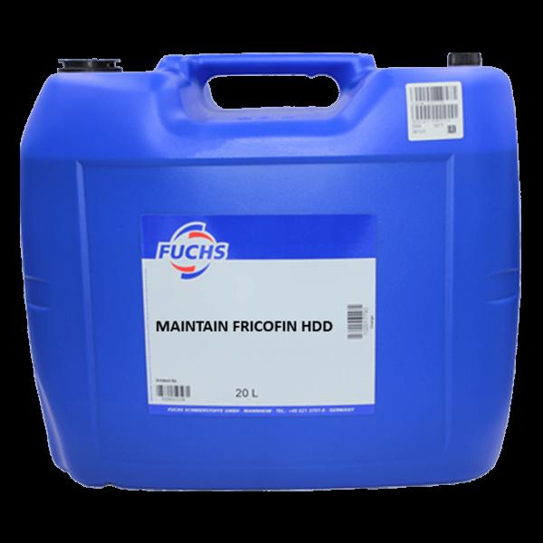 Maintain Fricofin HDD