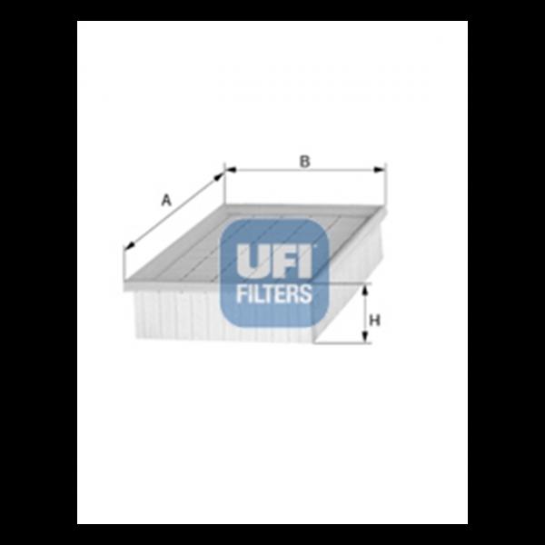 Ufi Luftfilter 30.989.00 - Stück