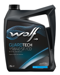 Wolf Oil Guardtech 15W40 SF/CD - 5L Kanne