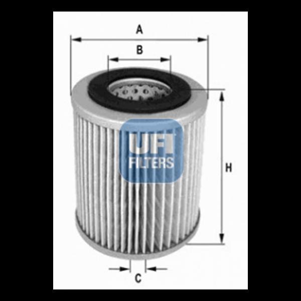Ufi Luftfilter 27.169.00 - Stück