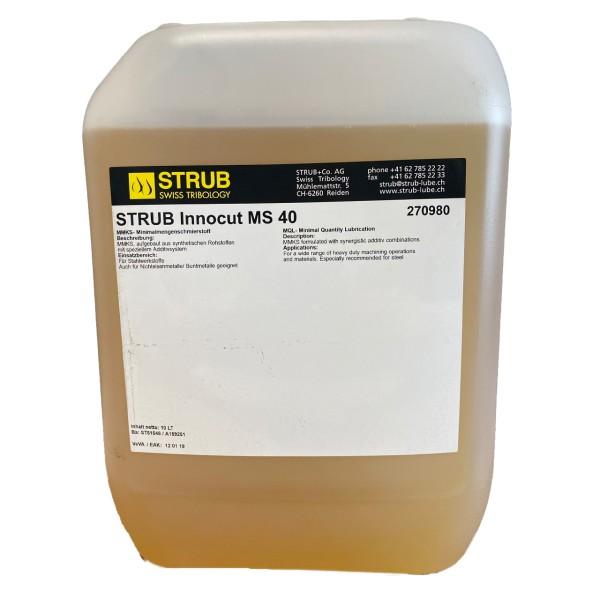 Strub Innocut MS 40 - 10L Kanne