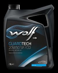 Wolf Oil Guardtech 20W50 SF/CD - 5L Kanne