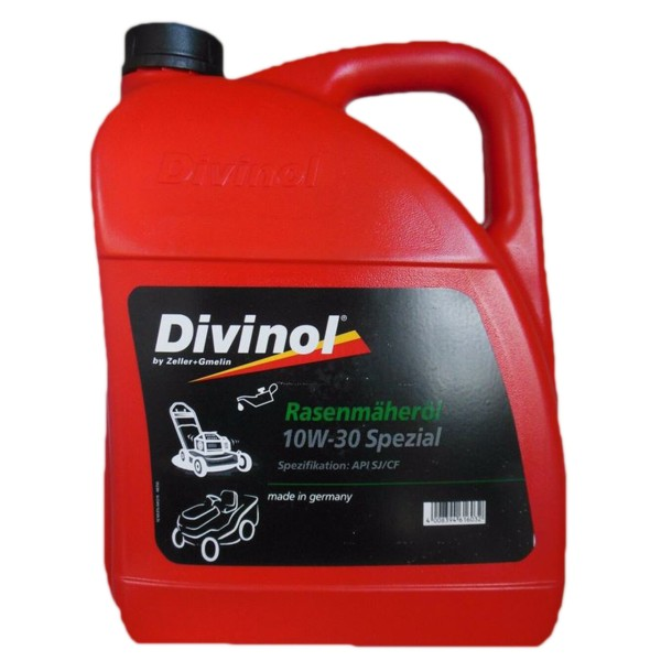 Zeller & Gmelin Divinol Rasenmäheröl Spezial 10W-30 - 5L Kanne