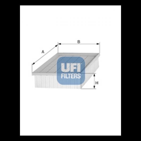 Ufi Luftfilter 30.858.00 - Stück