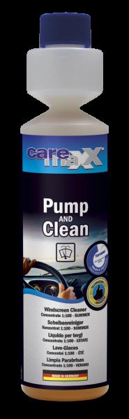 bluechem Pump & Clean Scheibenreinigungskonzentrat - 250ml Flasche