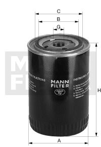 MANN MANN-Filter W 940/51 - Stück
