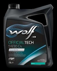 Wolf Oil Officialtech 5W30 C4 - 5L Kanne