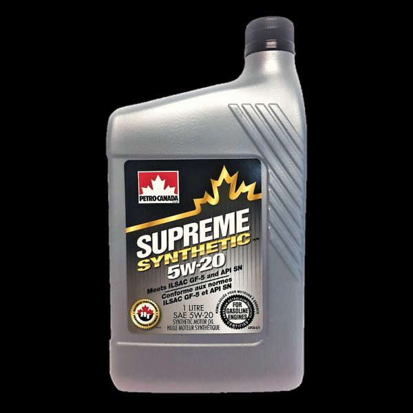 Petro-Canada Supreme Synthetic 5W-20 - 1L Dose