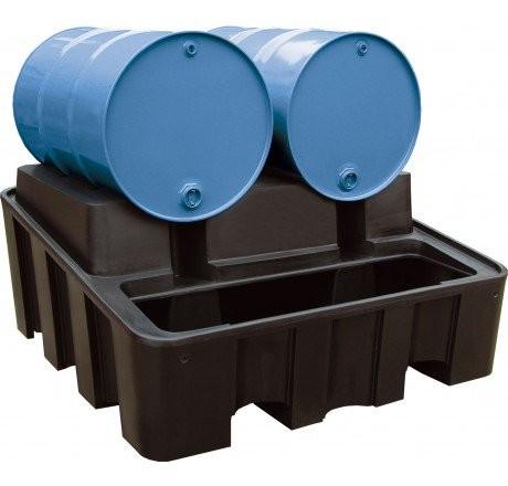 Cemo PE-Abfüllstation 450 l für 2 x 200 l Fässer - Stück