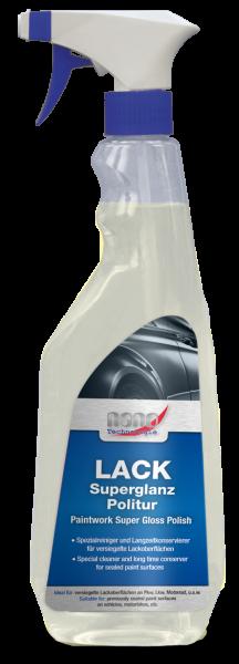bluechem Nano Reiniger und Konservierer für Lackoberflächen - 500ml Sprühflasche
