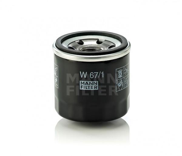 MANN MANN-Filter W 67/1 - Stück