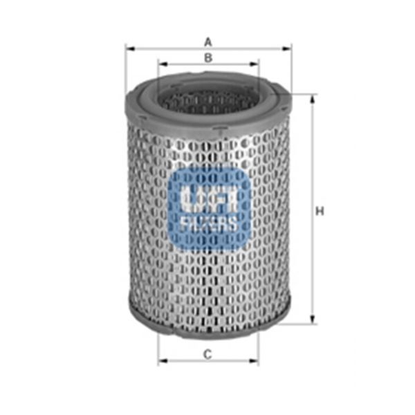 Ufi Luftfilter 27.867.00 - Stück
