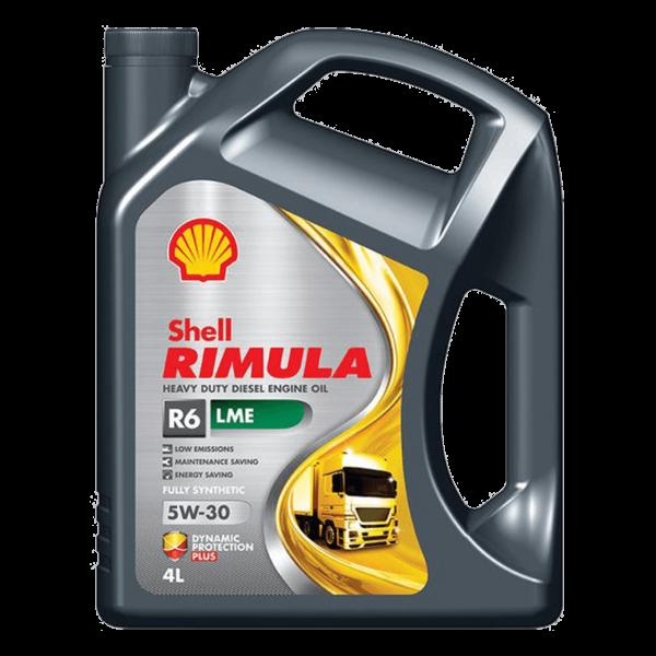 Shell Rimula R6 LME 5W-30 - 4L Kanne