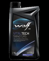 Wolf Oil Vitaltech 5W40 Gas - 1L Dose