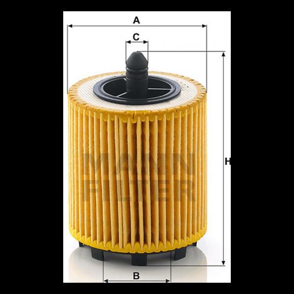 MANN MANN-Filter HU 6007 x - Stück