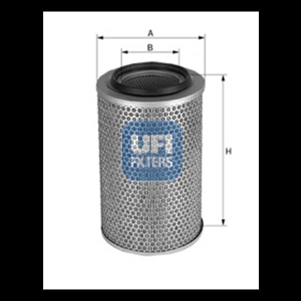 Ufi Luftfilter 27.738.00 - Stück