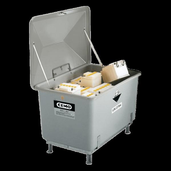 Cemo Kfz-Altbatteriebehälter 200 l - Stück