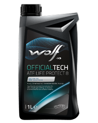 Wolf Oil Officialtech ATF Life Protect 8 - 1L Dose