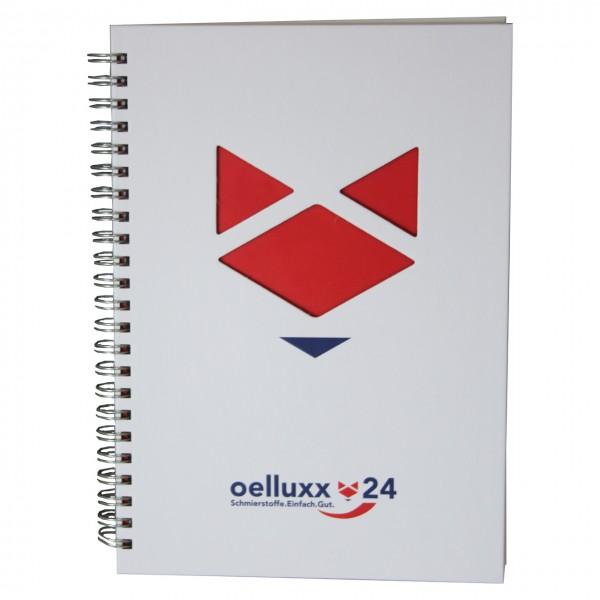 Oelluxx24 Oelluxx Notizbuch mit Kalender - Stück