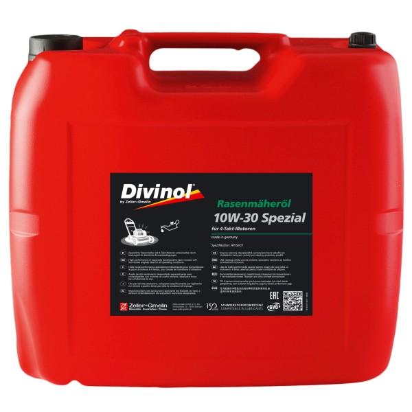 Zeller & Gmelin Divinol Rasenmäheröl Spezial 10W-30 - 20L Kanne