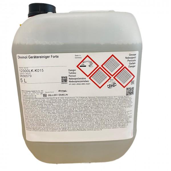 Zeller & Gmelin Divinol Gerätereiniger Forte - 5L Kanne