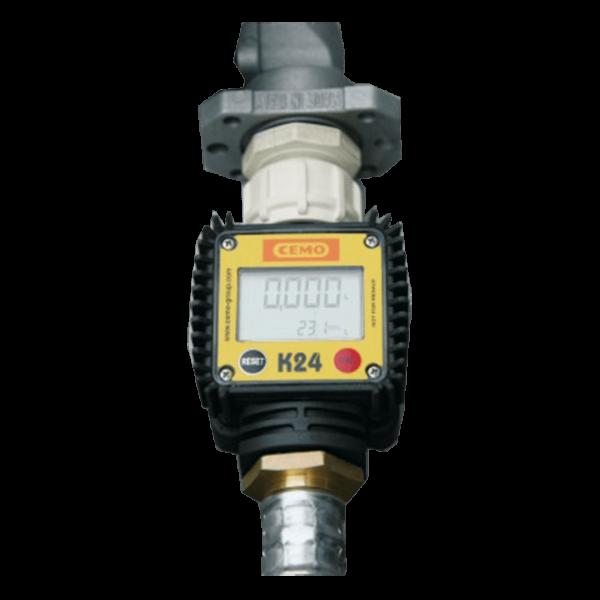 Cemo Digitaler Durchflusszähler K 24 für DT-Mobil-Easy  - Stück