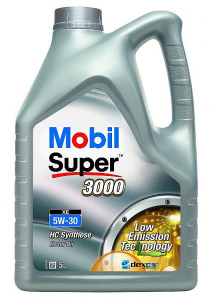 Mobil Super 3000 XE 5W-30 - 5L Kanne