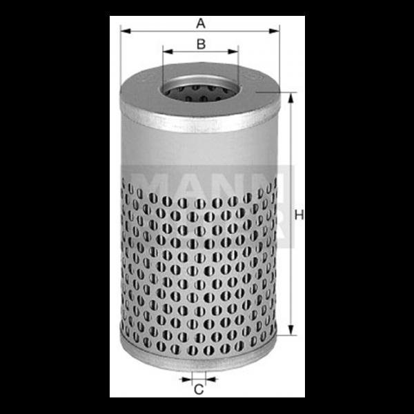 MANN MANN-Filter H 617 n - Stück
