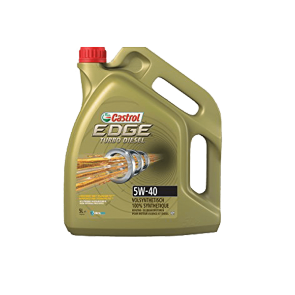 Castrol Edge Turbo Diesel 5W-40 - 5L Kanne