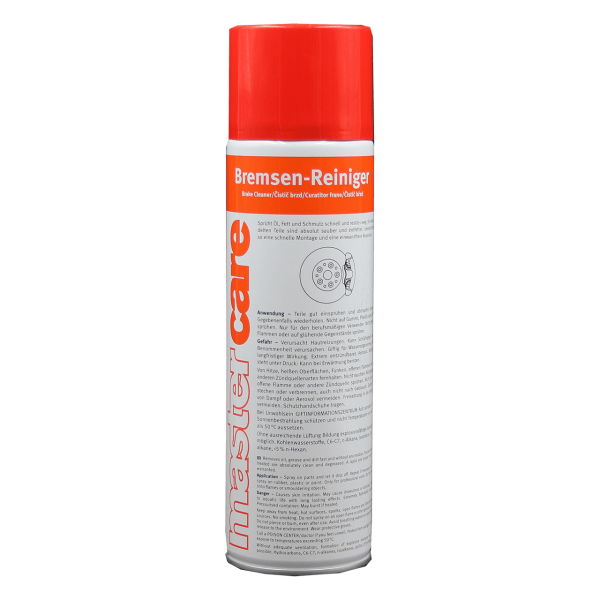 Mastercare Bremsenreiniger Spray - 500ml Spray
