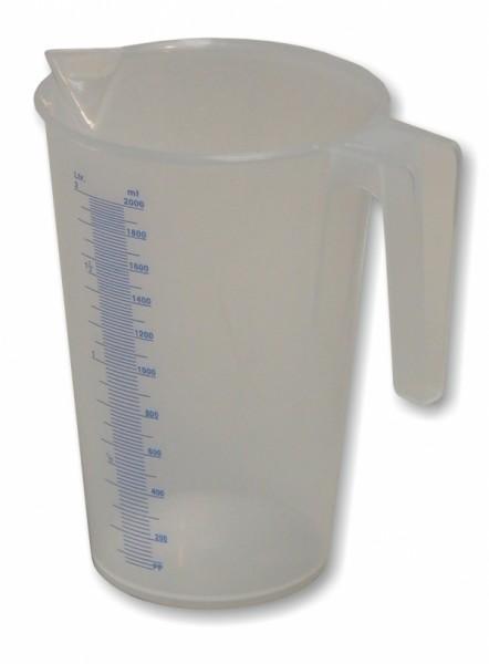 Mato Kunststoff-Flüssigkeitsmessbecher Typ J-PP 200 - Stück