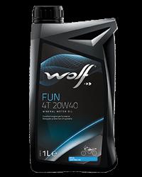 Wolf Oil Fun 4T 20W40 - 1L Dose