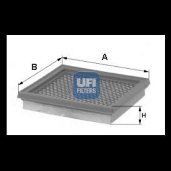 Ufi Luftfilter 30.962.00 - Stück