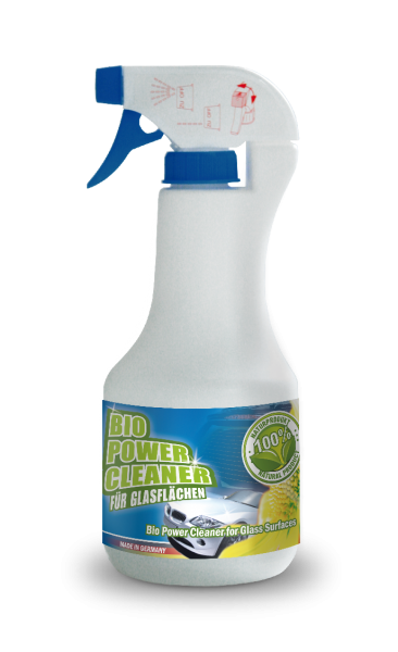bluechem Bio Power Cleaner for Glass Surfaces (BPGC) - 500ml Sprühflasche