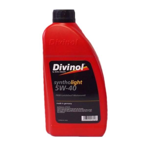 Zeller & Gmelin Divinol Syntholight 5W-40 - 1L Flasche