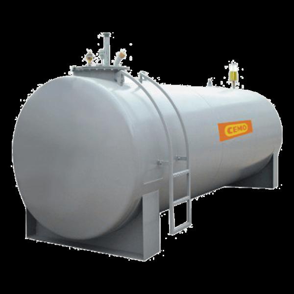 Cemo Stahltank 10.000 l, ohne Zubehör - Stück