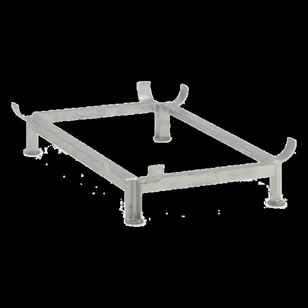 Cemo Stahlfußgestell für GFK-Rechteckbehälter 400 l - Stück