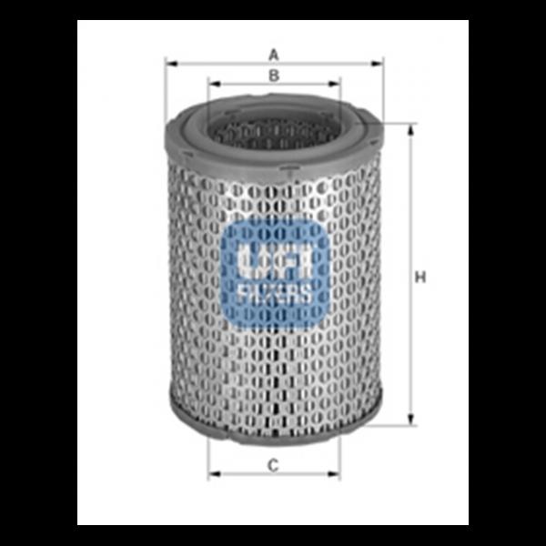 Ufi Luftfilter 27.081.00 - Stück