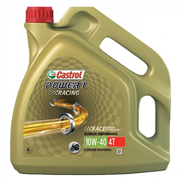 Castrol  Power 1 Racing 4T 10W-40 - 4L Kanne